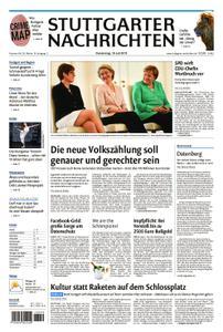 Stuttgarter Nachrichten Stadtausgabe (Lokalteil Stuttgart Innenstadt) - 18. Juli 2019