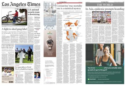 Los Angeles Times – February 13, 2020