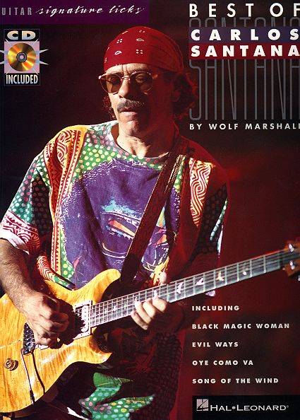 Best Of Carlos Santana Guitar Signature Licks