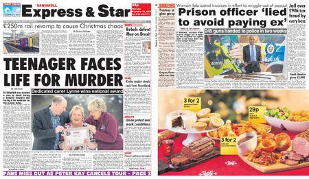 Express and Star Sandwell Edition – December 14, 2017