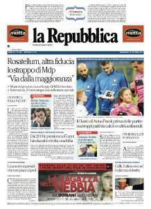 la Repubblica - 25 Ottobre 2017