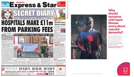 Express and Star Sandwell Edition – October 22, 2018