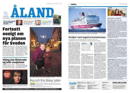 Ålandstidningen – 23 november 2019