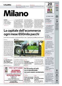 la Repubblica Milano - 28 Marzo 2018