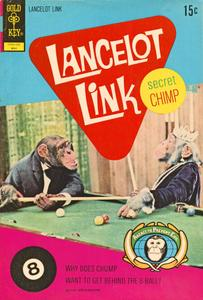 Lancelot Link, Secret Chimp 05 (c2c) (Gold Key) (May 1972) (Soothsayr-DMiles