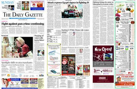 The Daily Gazette – November 26, 2017
