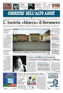 Corriere dell'Alto Adige – 11 marzo 2020