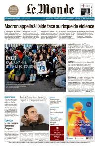 Le Monde du Vendredi 7 Décembre 2018