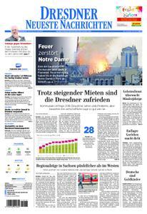 Dresdner Neueste Nachrichten - 16. April 2019