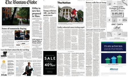 The Boston Globe – May 31, 2018