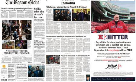 The Boston Globe – March 27, 2019