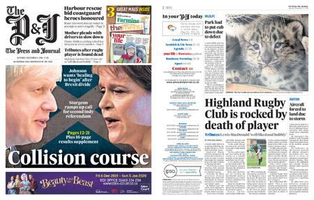 The Press and Journal Moray – December 14, 2019