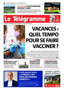 Le Télégramme Landerneau - Lesneven – 12 mai 2021
