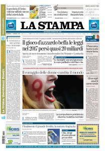 La Stampa Imperia e Sanremo - 7 Gennaio 2018