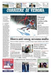 Corriere di Verona – 02 ottobre 2018