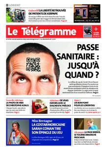 Le Télégramme Lorient – 20 septembre 2021