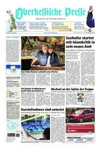Oberhessische Presse Marburg/Ostkreis - 17. März 2018