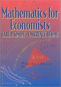 Mathematics for Economists [Repost]