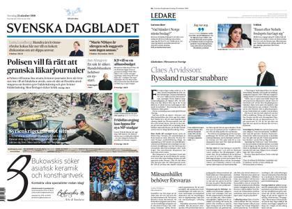 Svenska Dagbladet – 25 oktober 2018