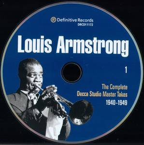 Louis Armstrong - The Complete Decca Studio Master Takes 1940-1949 (2000) {2CD Definitive Records DRCD11166}