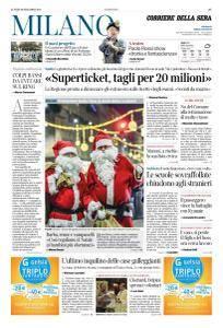 Corriere della Sera Milano - 18 Dicembre 2017