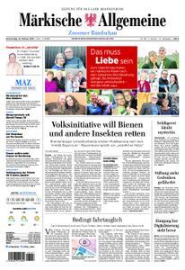 Märkische Allgemeine Zossener Rundschau - 14. Februar 2019