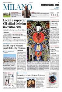 Corriere della Sera Milano – 16 dicembre 2019