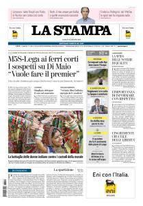 La Stampa Torino Provincia e Canavese - 12 Maggio 2018