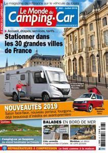 Le Monde du Camping-Car - juillet 2018