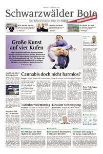 Schwarzwälder Bote Hechingen - 16. Februar 2018