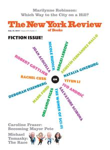 The New York Review of Books - July 18, 2019
