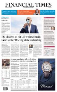 Financial Times Middle East - October 14, 2020