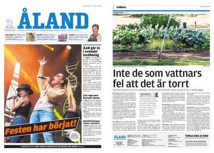 Ålandstidningen – 21 juli 2018