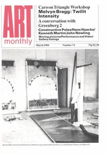 Art Monthly - March 1984   No 74