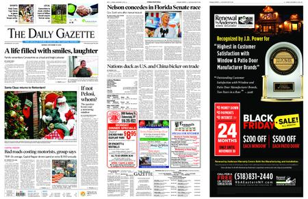The Daily Gazette – November 19, 2018