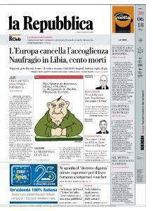 la Repubblica - 30 Giugno 2018