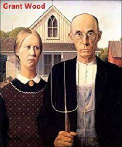 101 Color Paintings of Grant Wood (DeVolson) - American Gothic Painter (February 13, 1891 - February 12, 1942)