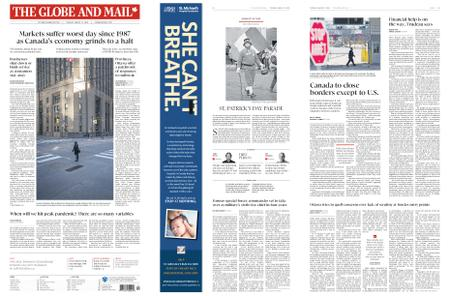 The Globe and Mail – March 17, 2020
