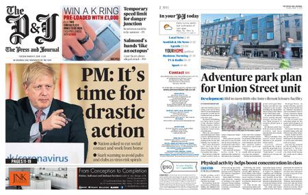 The Press and Journal Moray – March 17, 2020