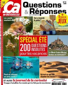 Ça M'Intéresse Questions & Réponses - Juillet-Septembre 2020