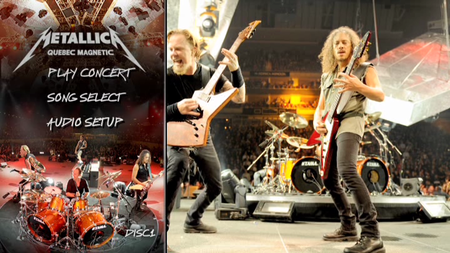 Metallica - Quebec Magnetic (2012) [2xDVD] Re-up