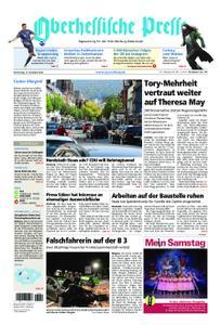 Oberhessische Presse Marburg/Ostkreis - 13. Dezember 2018