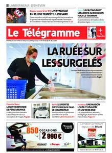 Le Télégramme Landerneau - Lesneven – 27 février 2021