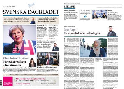 Svenska Dagbladet – 04 oktober 2018