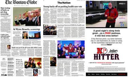 The Boston Globe – April 03, 2019