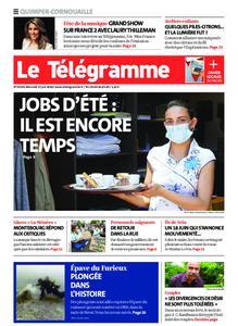 Le Télégramme Ouest Cornouaille – 17 juin 2020