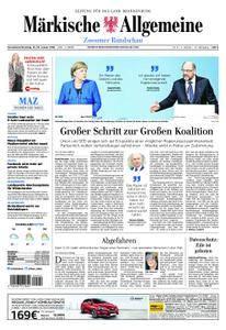 Märkische Allgemeine Zossener Rundschau - 13. Januar 2018