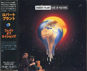 Robert Plant - Fate Of Nations (1993) [Japanese edition]