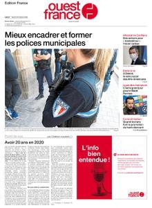 Ouest-France Édition France – 20 octobre 2020