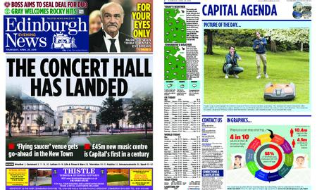 Edinburgh Evening News – April 25, 2019